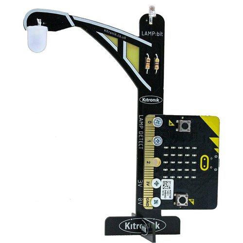 LAMP:bit - BBC micro:bit用街灯風拡張基板(白色LED版)