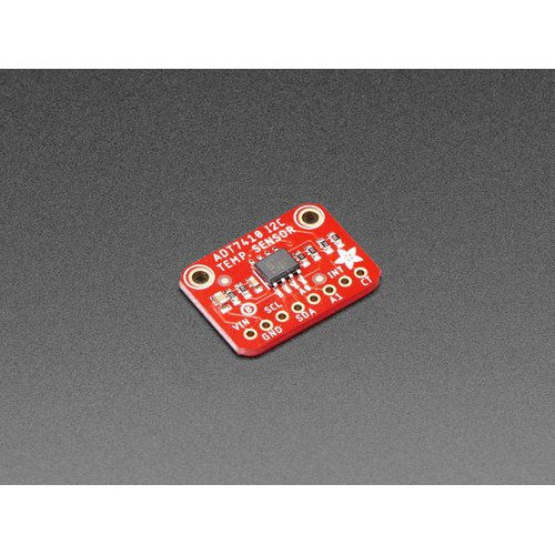 ADT7410搭載 高精度I2C温度センサモジュール