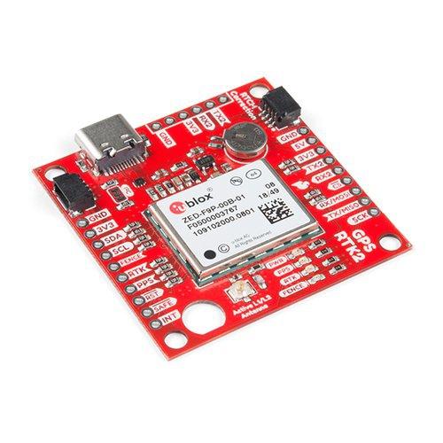 Qwiic - ZED-F9P搭載 GPS-RTK2モジュール