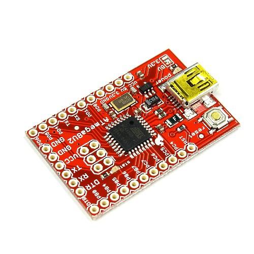 ATMEGA8U2搭載のUSB-シリアル変換ボード--販売終了