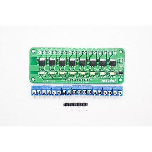 DT-8 Rev.2(デジタル8ポートトランジスタ)