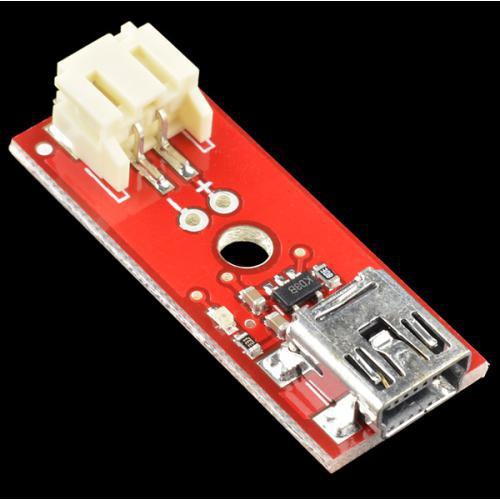 小型のリチウムイオン電池充電器(ミニUSBタイプ)