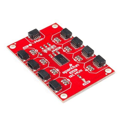 Qwiic - TCA9548A搭載 8チャンネル Mux拡張基板