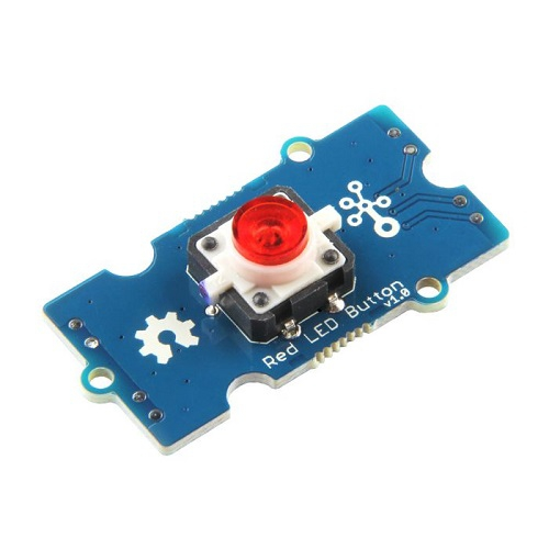 GROVE - 赤LEDボタン