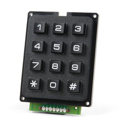 Qwiic - キーパッド(12ボタン)