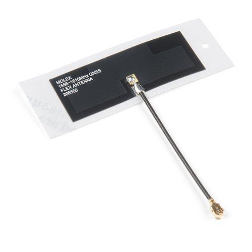 Molex フレキシブルGNSS U.FLアンテナ(粘着テープ付き)