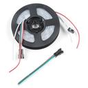 保護チューブ付き APA104搭載 RGB LEDストリップ(1m)