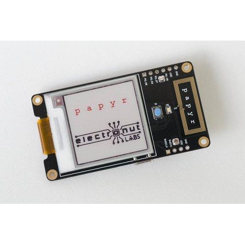 Papyr - 電子ペーパー付き nRF52840開発ボード