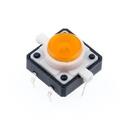 LED付きタクトスイッチ(橙)--在庫限り