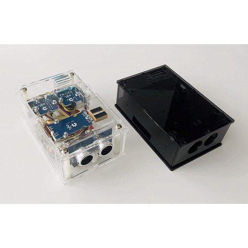 アクリルケース(スモーク)Grove IoT スターターキット for SORACOM(Wio LTE JP Version)用