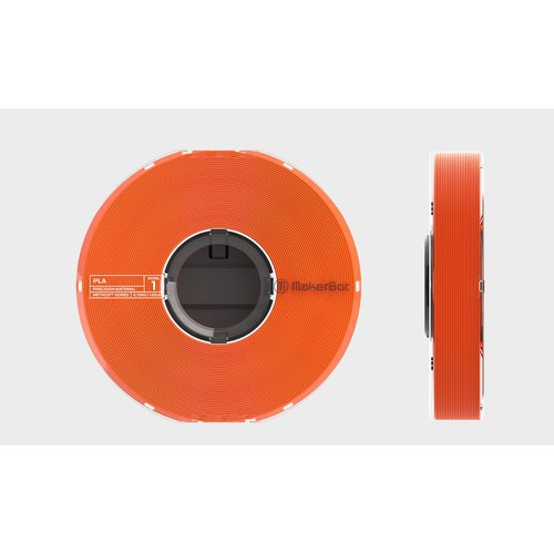 《お取り寄せ商品》MakerBot METHOD用 PLAモデル材(750g)オレンジ