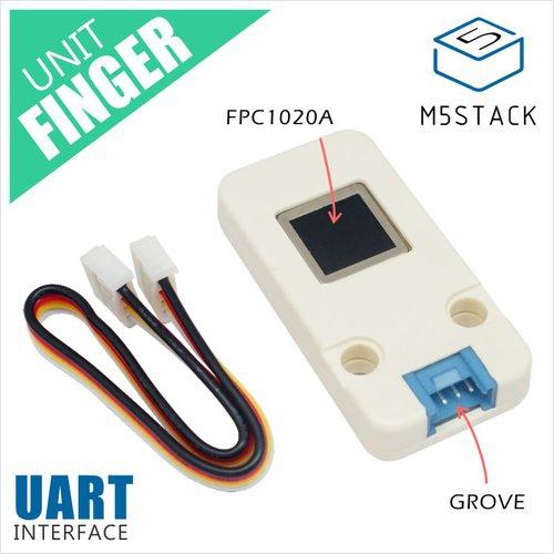 M5Stack用指紋センサユニット