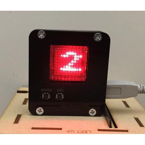 スクロール時計キット(USB電源) - SCROLL-CLOCK-TYPE01