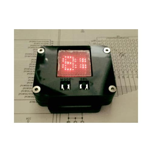 スクロール時計キット(CR2032) - SCROLL-CLOCK-TYPE03