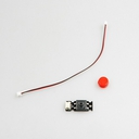 micro:bit用ボタン赤(コネクタータイプ)
