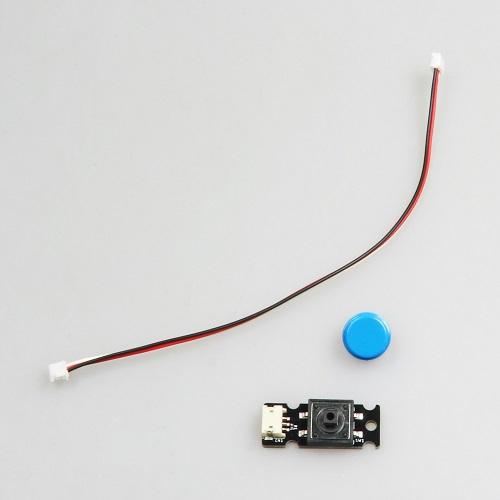 micro:bit用ボタン青(コネクタータイプ)