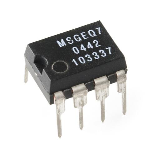 MSGEQ7オーディオ用スペクトラムアナライザ