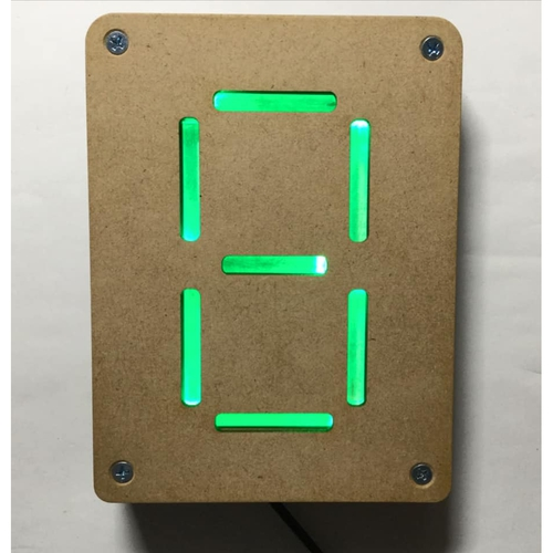 ネオン管風7セグ表示デバイス - NEONIC-LED1