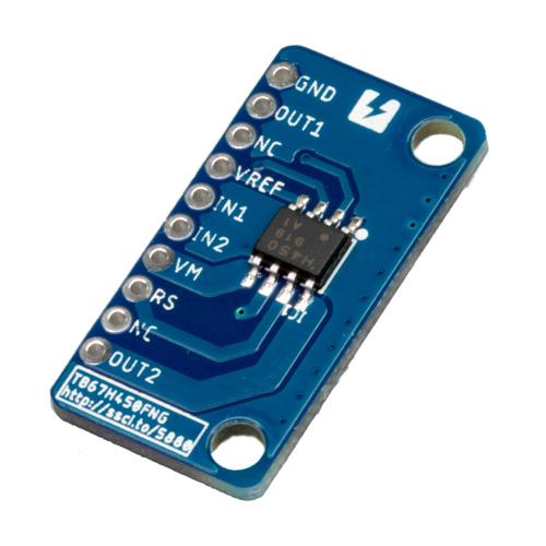 TB67H450FNG搭載モータドライバ ピッチ変換基板