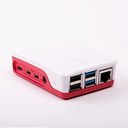 Raspberry Pi 4 用オフィシャルケース 赤/白