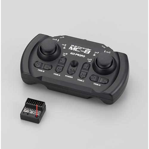 MC-8 2.4GHz MX-F 送受信機セット