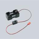 電源ユニット - 2.54mm 2ピンコネクタ/スイッチ付 単三 × 4本 電池ボックス