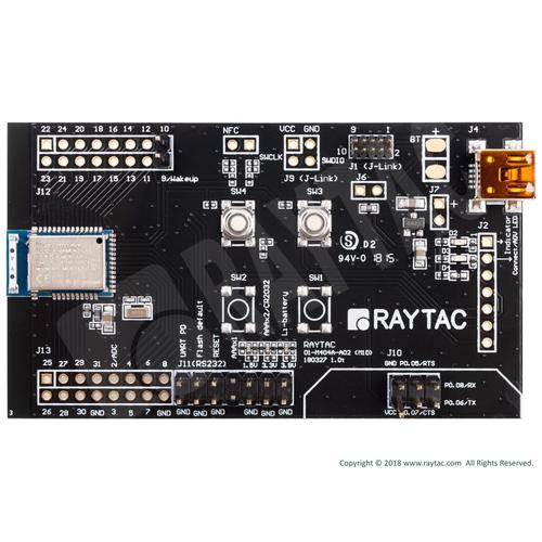 スレーブ/ペリフェラル用 ATコマンド対応 MDBT42Q 評価ボード