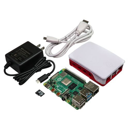 Raspberry Pi 4 スターターキット(4GB RAM版)