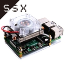 52Pi カラフルCPUクーラー For Raspberry Pi 3B/3B+/4B(EP-00112)