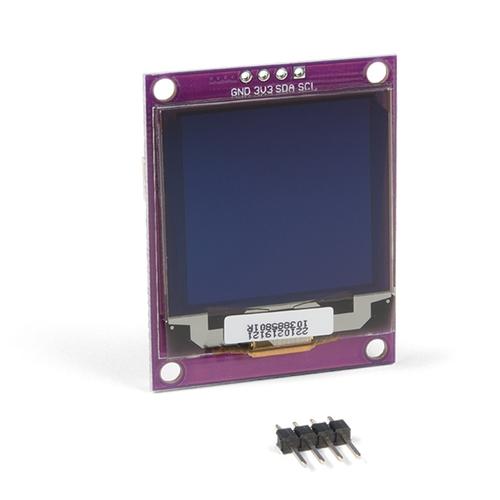 Zio Qwiic - 1.5インチ OLEDディスプレイ(128 x 128)