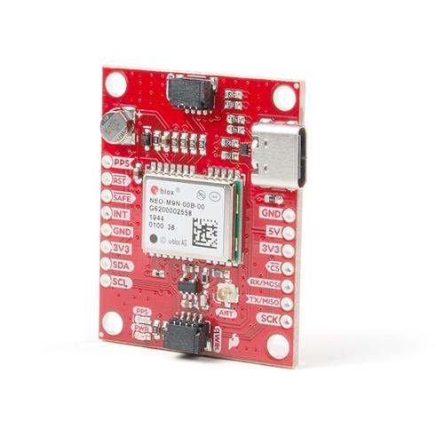 Qwiic - NEO-M9N搭載 GPSモジュール