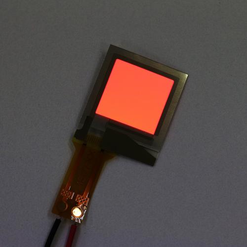 フレキシブル有機EL照明 A9F4C0A 赤 15mm角