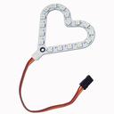 micro:bit用フルカラーLEDボード(ハート型)