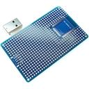 ESP-WROOM-32 プロト基板 L + USB TypeA