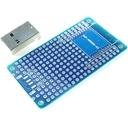 ESP-WROOM-02 プロト基板 S + USB TypeA