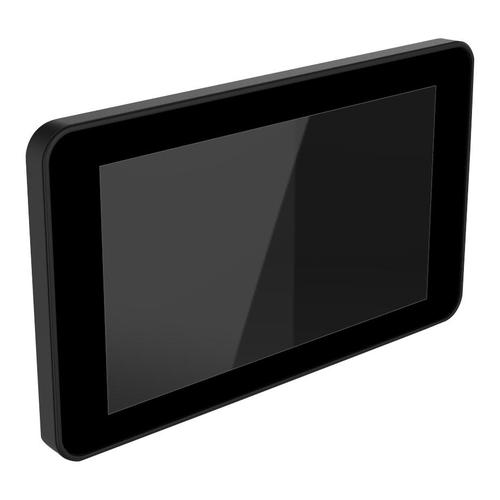 Raspberry Pi 4 + 7インチタッチスクリーン用電源ボタン付きケース 黒