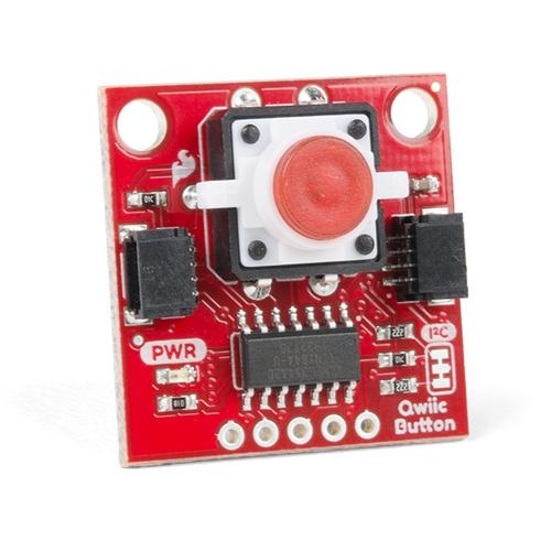 Qwiic - 赤色LEDボタン