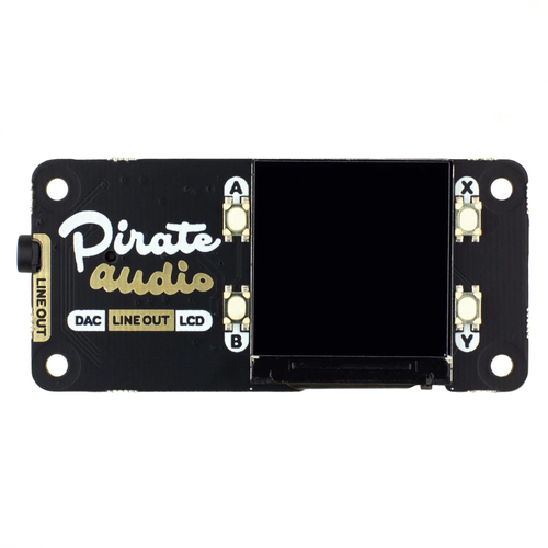 Pirate Audio Line-out for Raspberry Pi