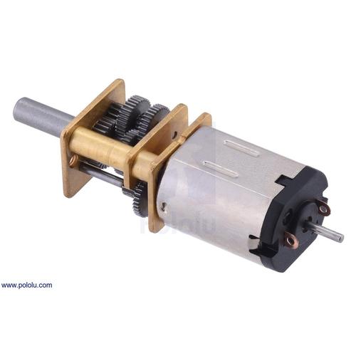 1000:1 シャフト付き超小型メタルギアドモーター HPCB 12V