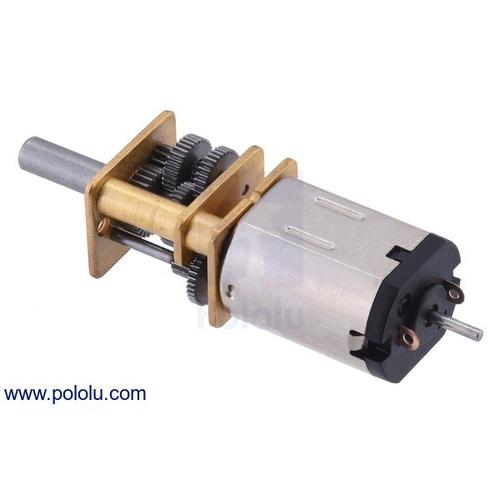 1000:1 シャフト付き超小型メタルギアドモーター HPCB 6V