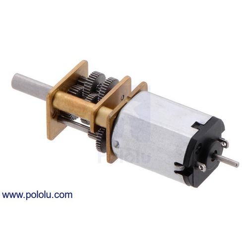 1000:1 シャフト付き超小型メタルギアドモーター LP 6V