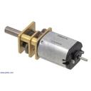 250:1 シャフト付き超小型メタルギアドモーター LP 6V