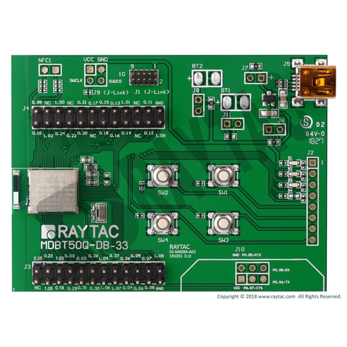 nRF52833 MDBT50Q-512K 評価ボード