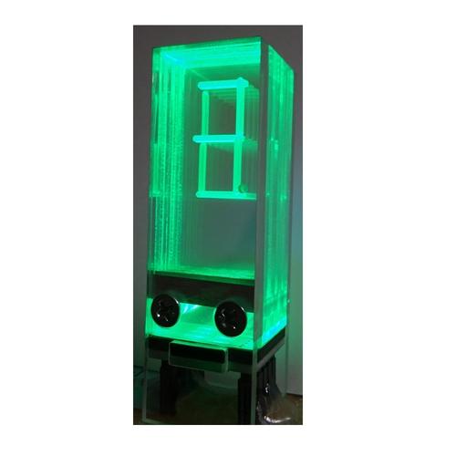 透明アクリル 8 セグメント LED モジュール(緑色)