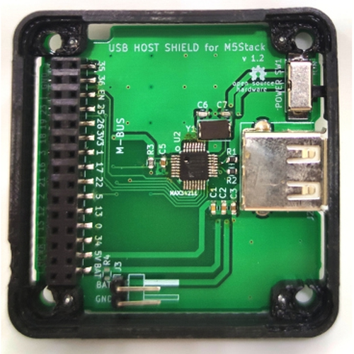 USB Host Shield for M5Stack用ケース