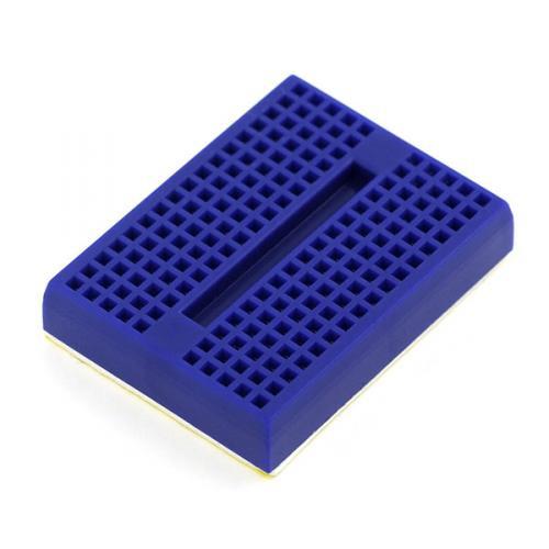 SparkFun 超小型ブレッドボード(青)--販売終了