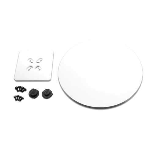 アクリル製ターンテーブル(白)