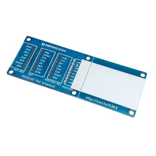 M5StickC用Hatピッチ変換基板