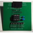 超音波距離センサ処理付 M5Stack用サーモアレイセンサConta-AMG8833変換基板