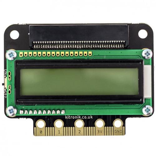 micro:bit用VIEW text32 LCD Screen